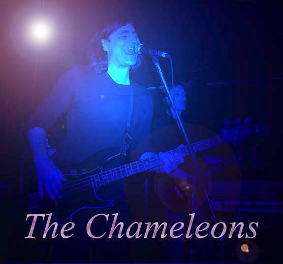 [img 26k] The Chameleons at Fibbers, York, 23rd September 2002. image © Andy Hawksworth, 2002